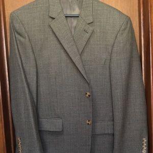 Andrew Fezza Blazer Coat 100% Wool 42S like New